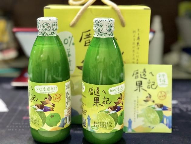 厝邊ㄟ果記~香檬原汁新包裝(2瓶裝) 2